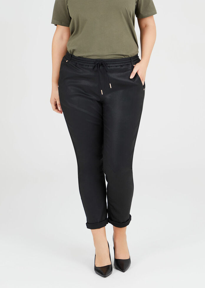 The Coated Relaxed Jogger, , hi-res
