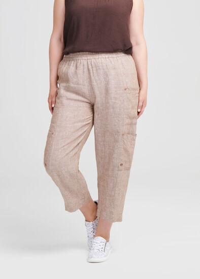 Linen Safari Pant