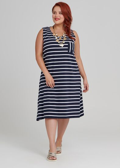 Smart Stripes Dress