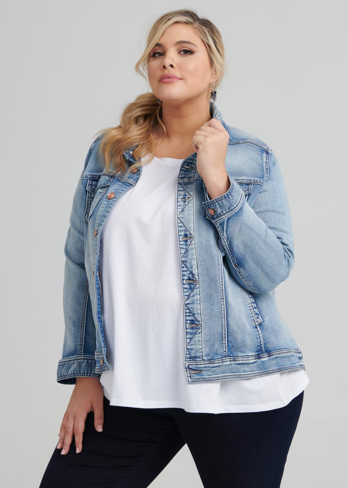 Where to buy jeans when you're short and plus size