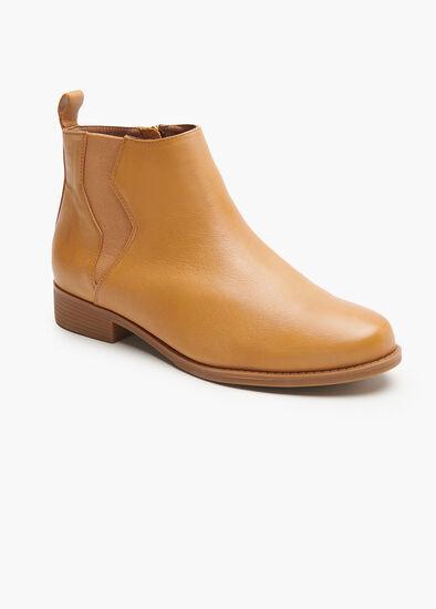 Lightning Leather Boot