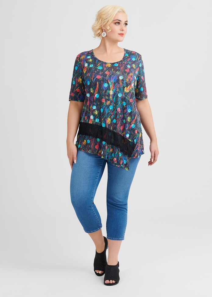 Coastal Vibe Modal Top, , hi-res