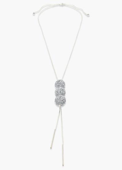Diamante Ball Necklace
