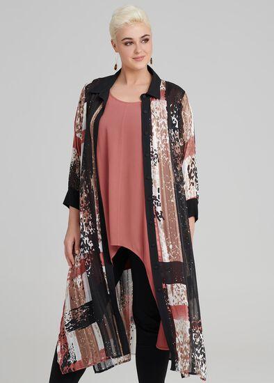 Mecca Print Lurex Shirt