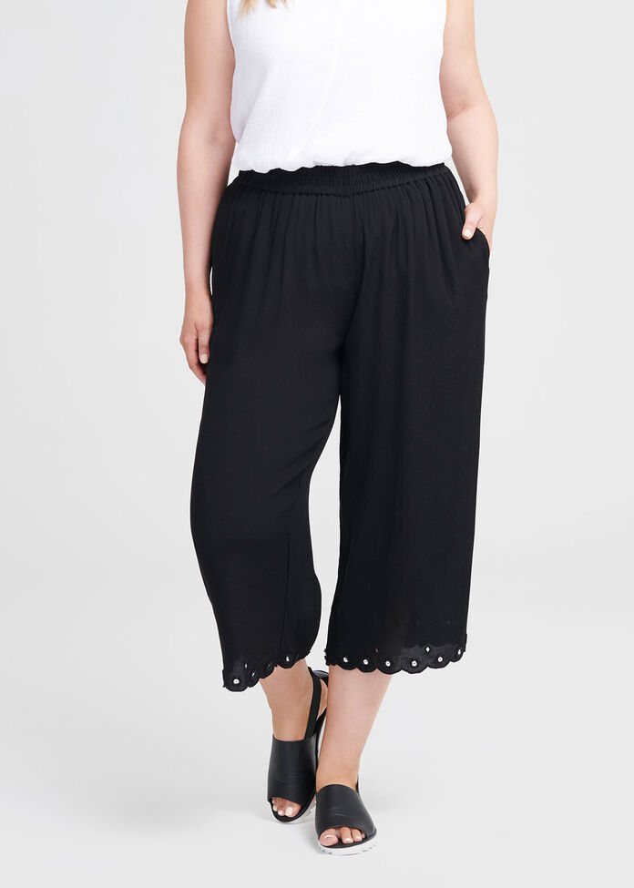 Natural Celia Crop Pant, , hi-res