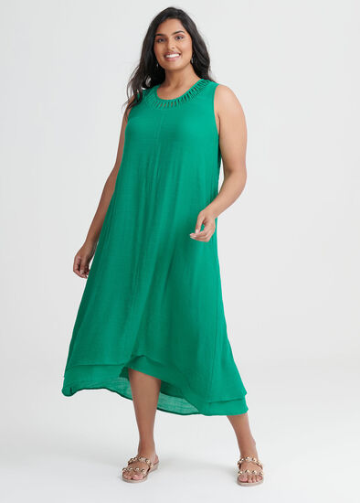 Cross My Heart Maxi Dress