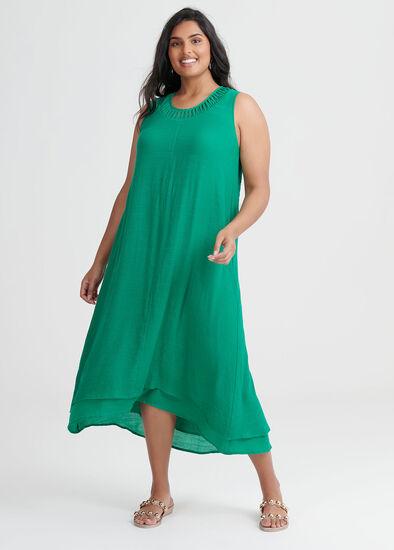 Cross My Heart Maxi Dress