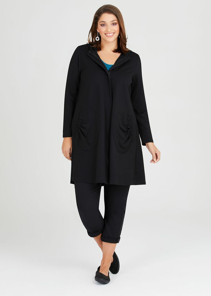 Bamboo Ponte Commotion Jacket, , hi-res