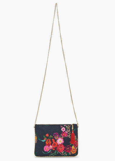 Smell The Roses Clutch