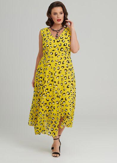 Citrine Cocktail Dress
