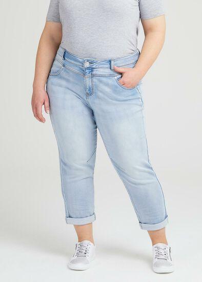 Petite Easy Fit Denim Jean