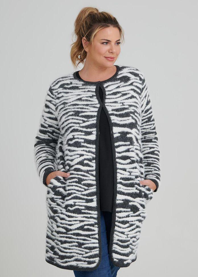 Zebra Instarisa Cardigan, , hi-res
