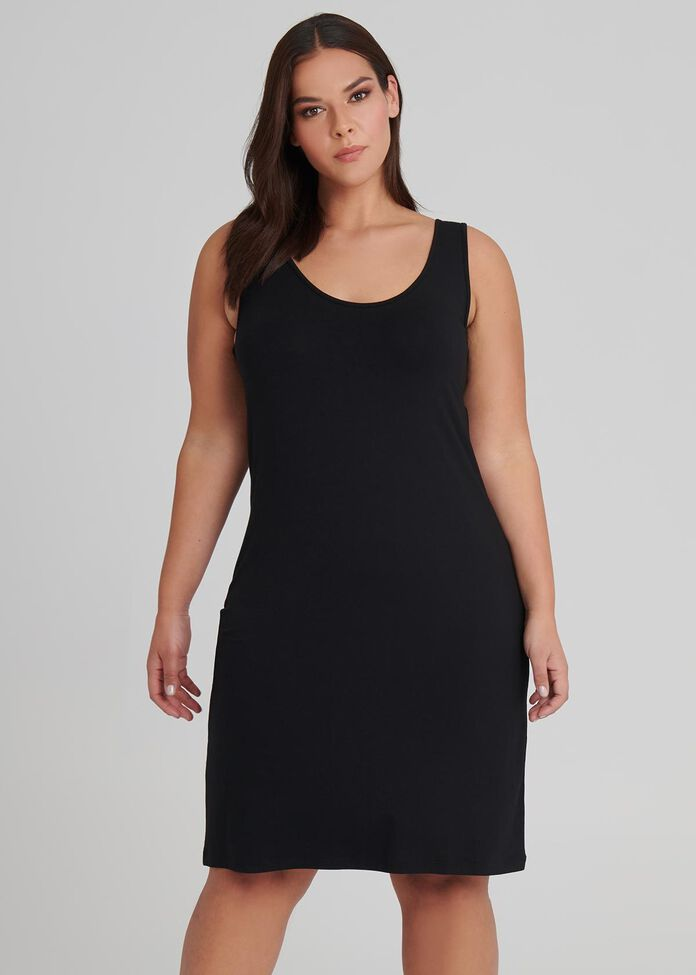 Bamboo Faith Slip Dress, , hi-res