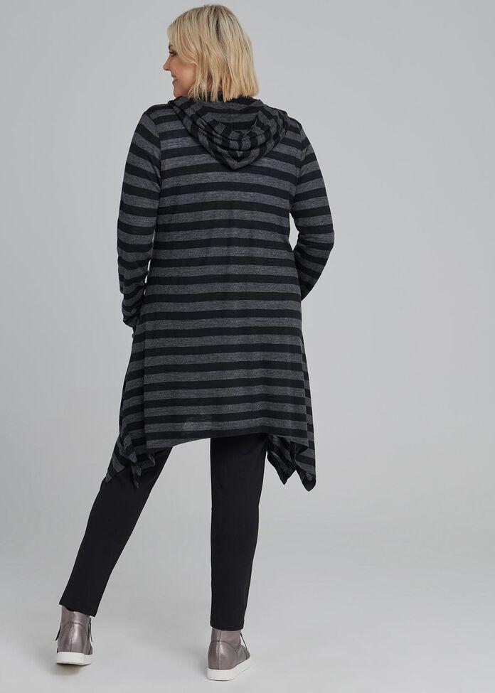 Aspen Stripe Cardi, , hi-res