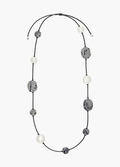 Serpenti Beaded Necklace