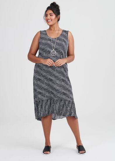 Onyx Spot Dress