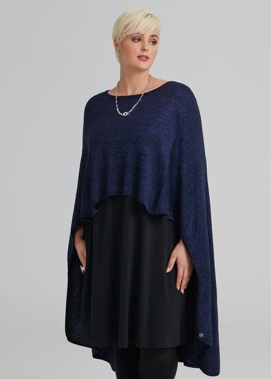 By Your Side Sparkle Poncho