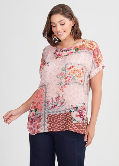 Natural Pattern Play Top
