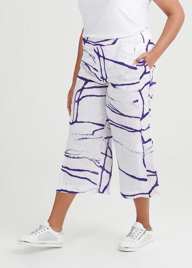 Jemima Linen Crop Pant