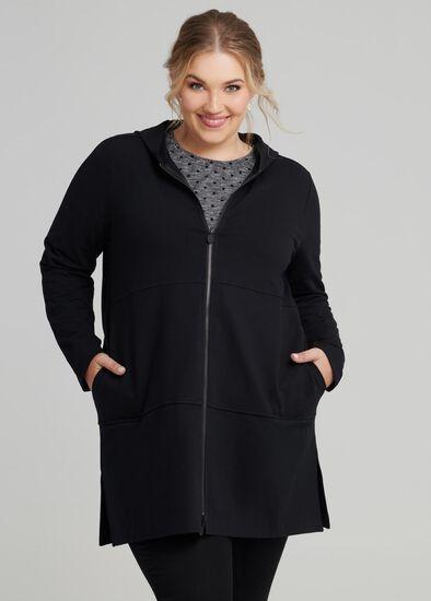 Coco Luxe Zip Jacket