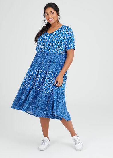 Cotton Circles Moon Dress