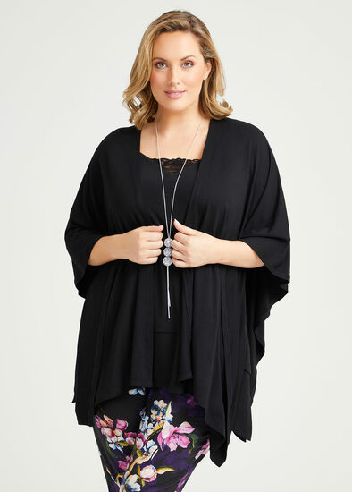 Bamboo Jersey Cape