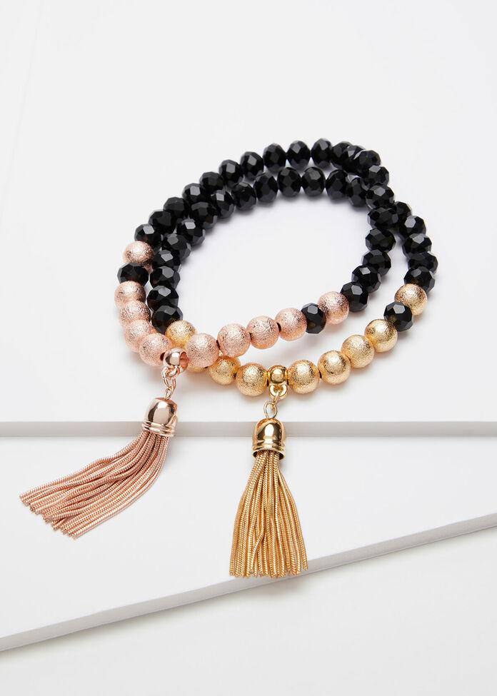 Tassel Bracelet Set, , hi-res