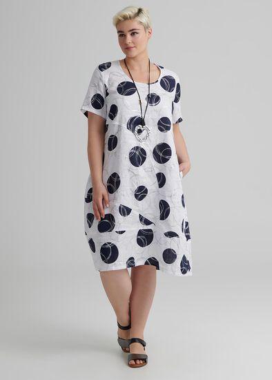 Linen Blue Hue Dress