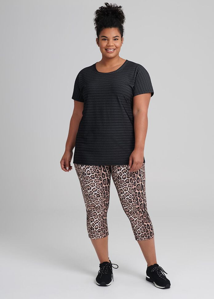 Leopard Active Legging, , hi-res