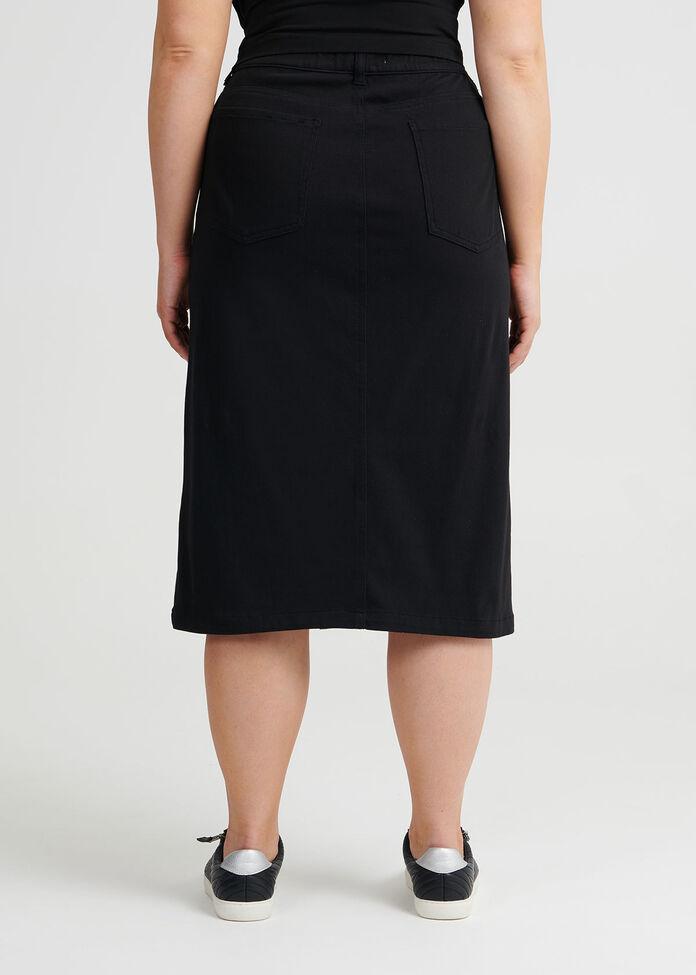 Bestfriend Button Skirt, , hi-res