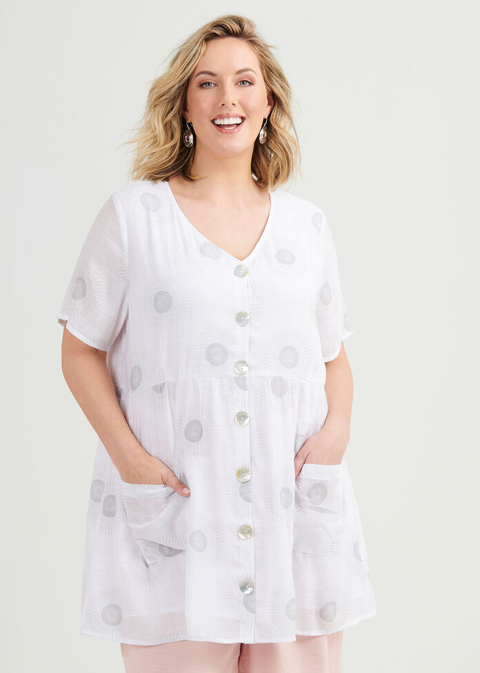 Going In Circles Tunic, , hi-res