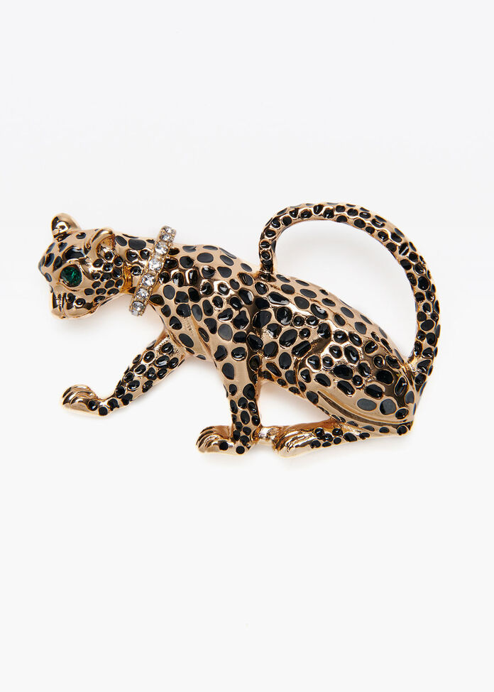Cool Cats Brooch, , hi-res