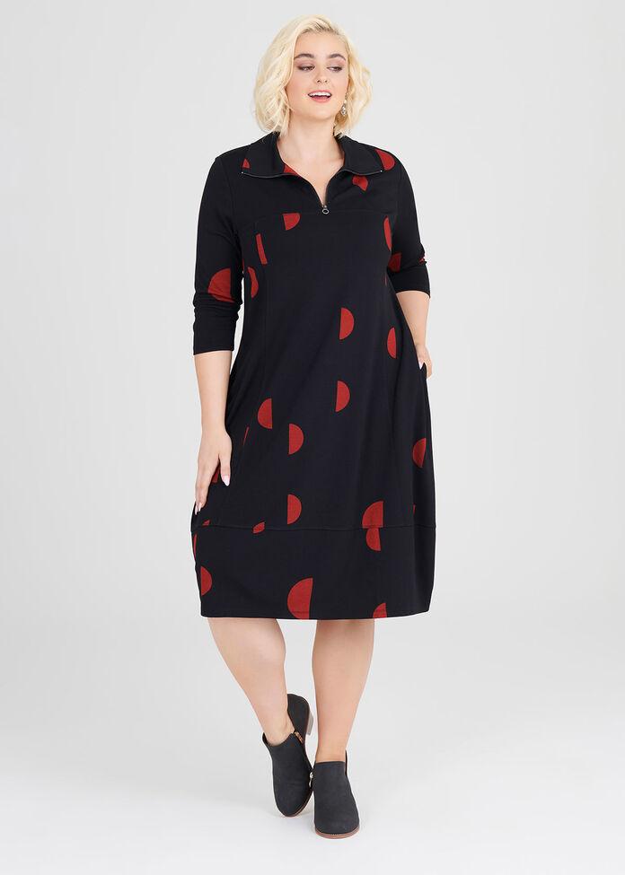 Soho Ponti Dress, , hi-res
