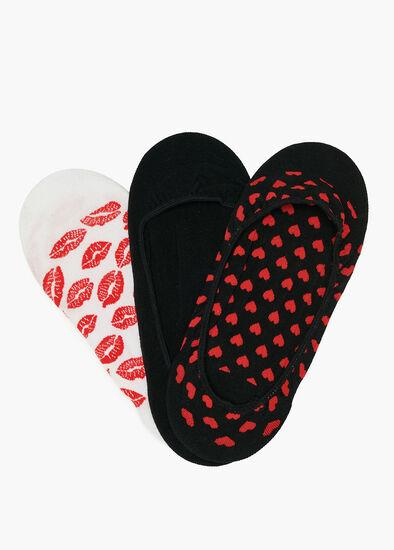 Set/3 Bamboo Love Socks