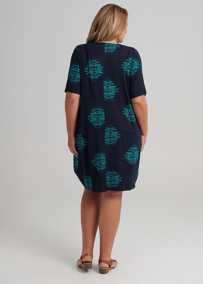 Ripple Spot Bamboo Dress, , hi-res