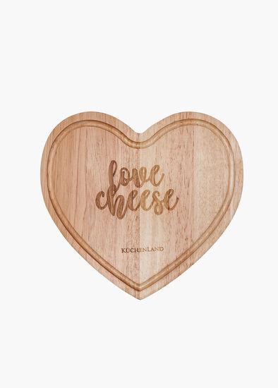 Heart Cheese Board Set