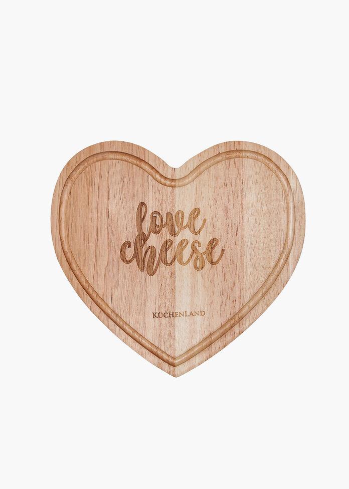 Heart Cheese Board Set, , hi-res