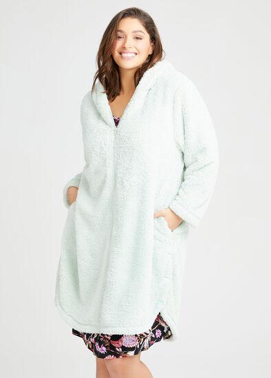 Cosy Zip Hoodie Dressing Gown