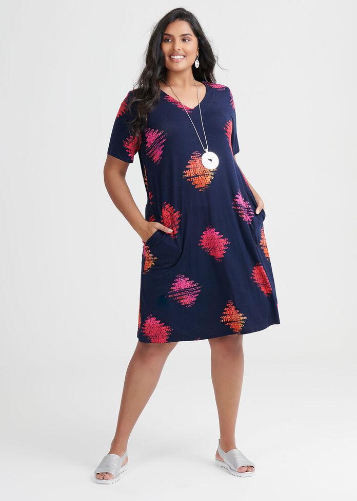 Bamboo Mila Spot Dress, , hi-res