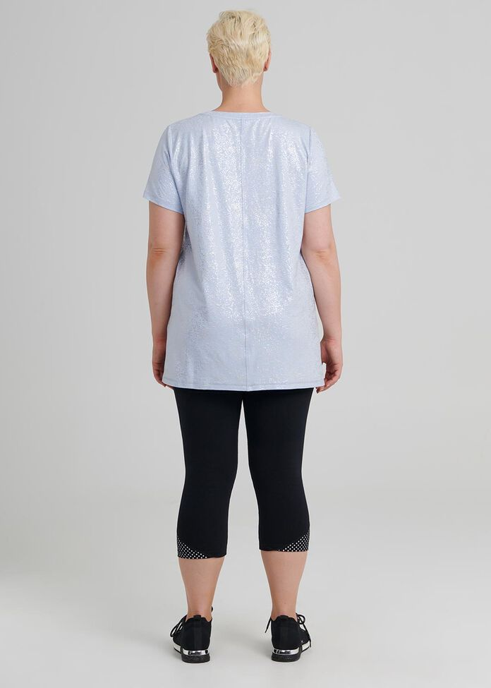 Reflective Active Tee, , hi-res