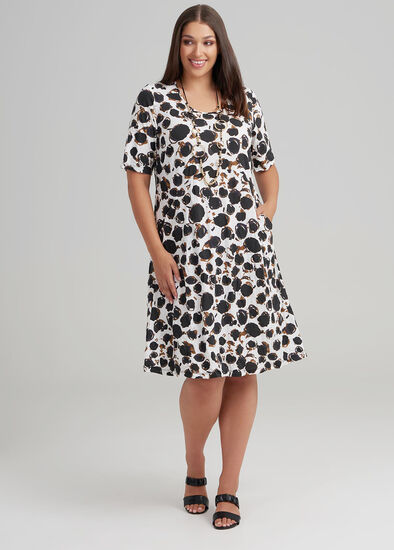 Minka Spot Dress