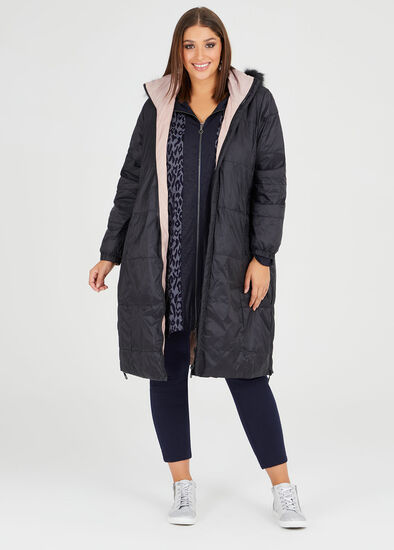 Muse Reversible Puffer Coat