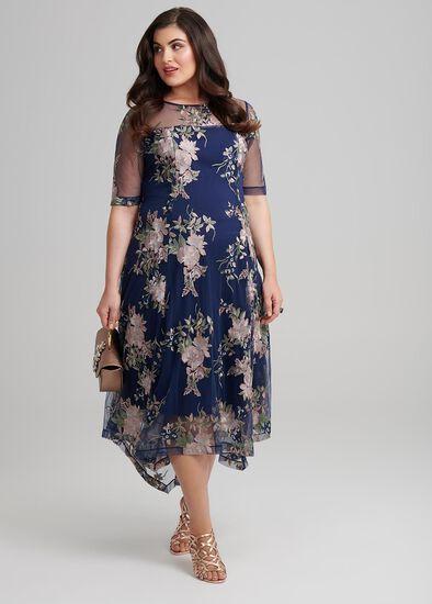 Garden Embroidery Dress