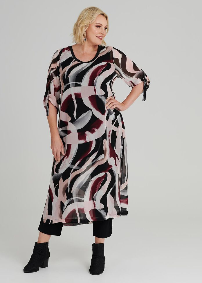 Girl About Town Tunic, , hi-res
