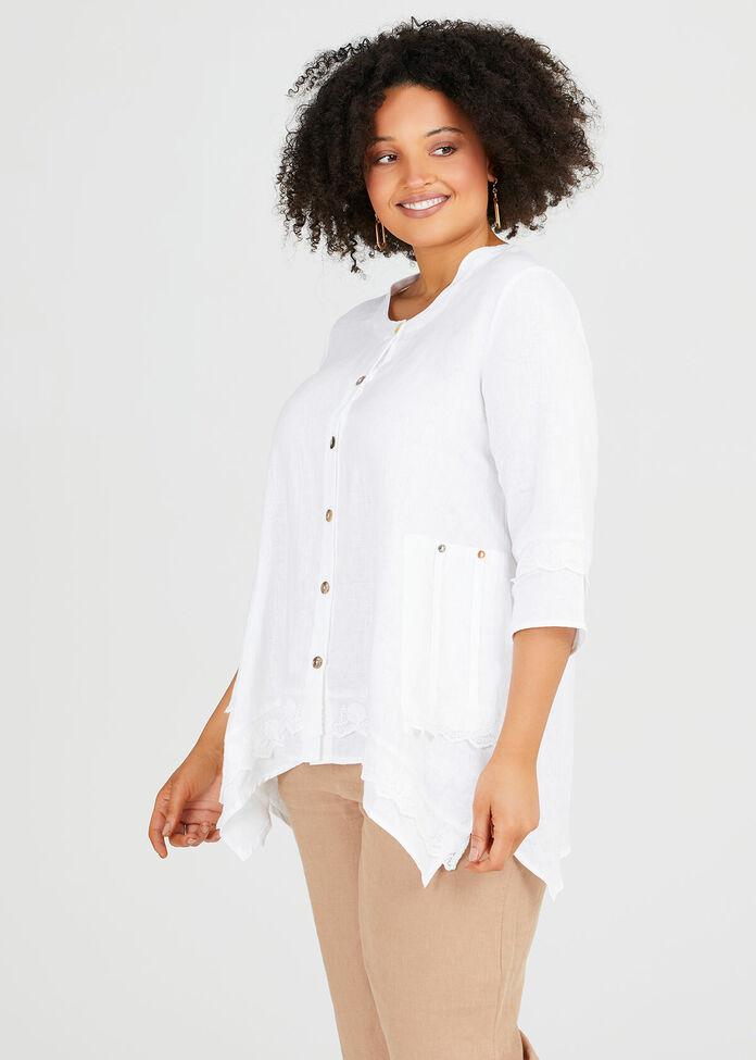Latania Linen Shirt, , hi-res