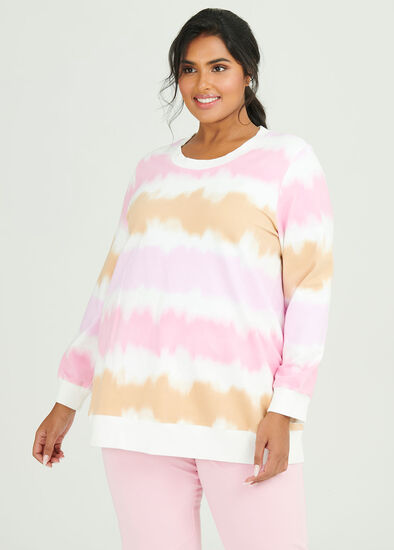 Organic Tiedye Sweat Top