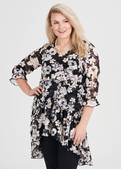 Floral Fortune Tunic