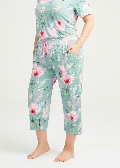 Bamboo Garden Pyjama 3/4 Pant