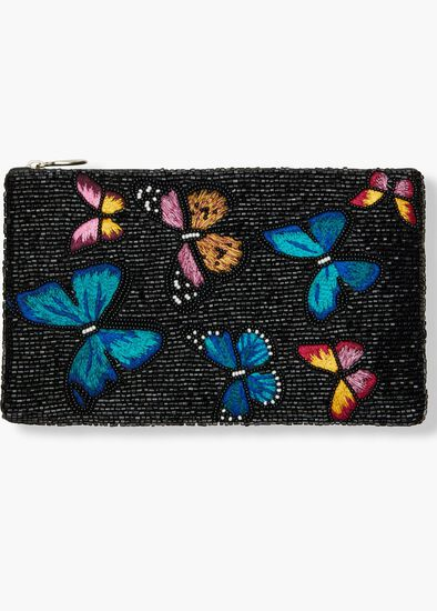 Butterfly Beaded Bag