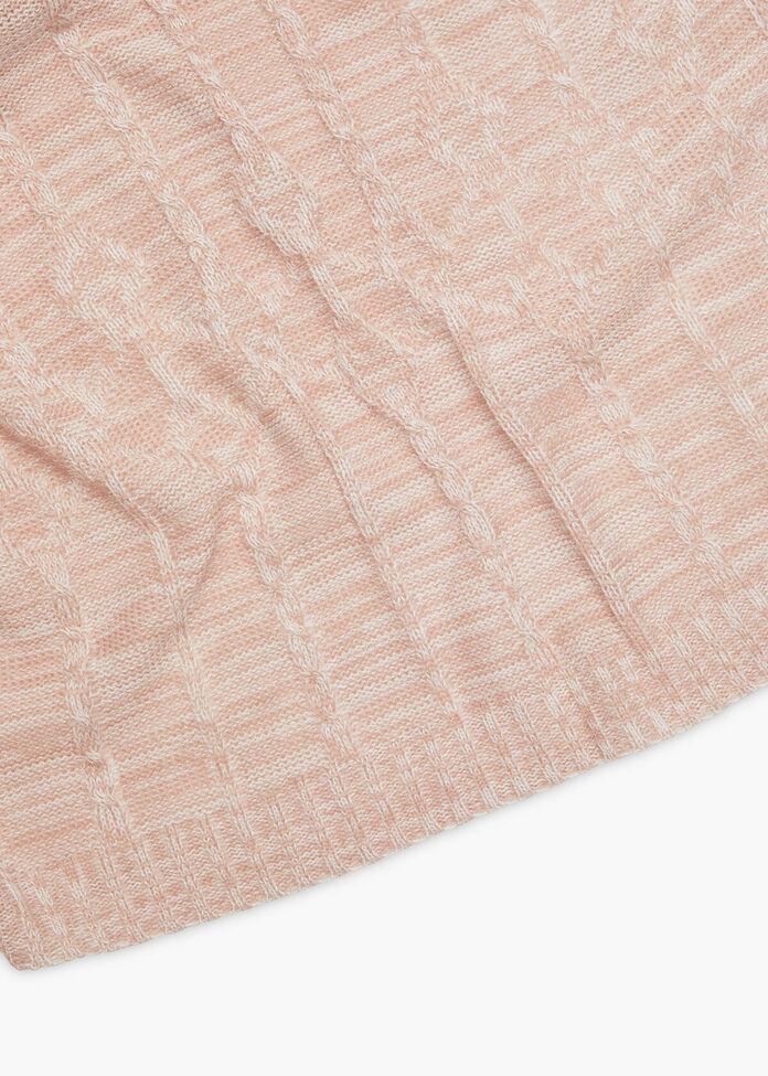 Pink Mix Poncho, , hi-res